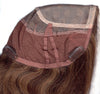 "Style #267 H - New 3/4 Demi-Wig ""Ultimate Comfort Cap"" with 16"" hand ventilated HUMAN HAIR Throughout!"