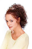 Style #274 - Lots of Curls on Banana Comb Hairpiece
