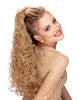 Style #277 - Long Roller Set Ponytail on Wing Combs