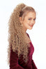 Style #291 - Long Spiral Curl Ponytail on Wing Combs