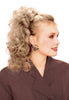 Style #292 - Classic Long Layered Shag Pony Express Hair Extension; choose either Wing or Banana Combs Attachment