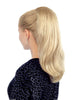 "Style #BFM-303 - Long 15"" Softly Waved Instant to use Ponytail clip-on hair extension!"