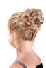 Style #BFS-339 - Smallest size clip-on synthetic hairpiece with Soft Med Curls; for people with finer hair!