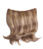 "Style #HBT-11x9/11 HB - 30% Human Hair + 70% Fiber Blend ""BOB"" Style Temple to Temple ""Wrap-A-Round"" Extension"