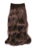 "Style #HBT-6X18 - 100% SYNTHETIC HAIR EXTENSION, Long Hair @ 18"", Base @ 6.5"",  for Back of head area"