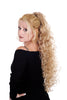Style #264 - Very Long Soft Curls for Girls! Curls flow from the crown to lower back area! Attaches with Interlocking Wing Combs!