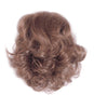 Style #211 - Mini Wiglet for filler and or chignons; thin skin like base, soft Kanekalon pre-curled hair.
