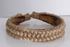 "Style #101 - 1-1/4"" Wide Braided Headband (5 Section Weave)"