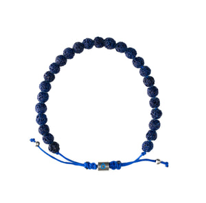 Great Lakes Bracelet - Blue Lava Rock