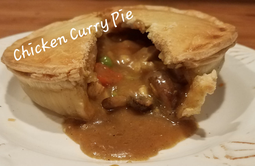 British Depot Chicken Curry Pie 9oz (1/2 lb Ship Weight)
