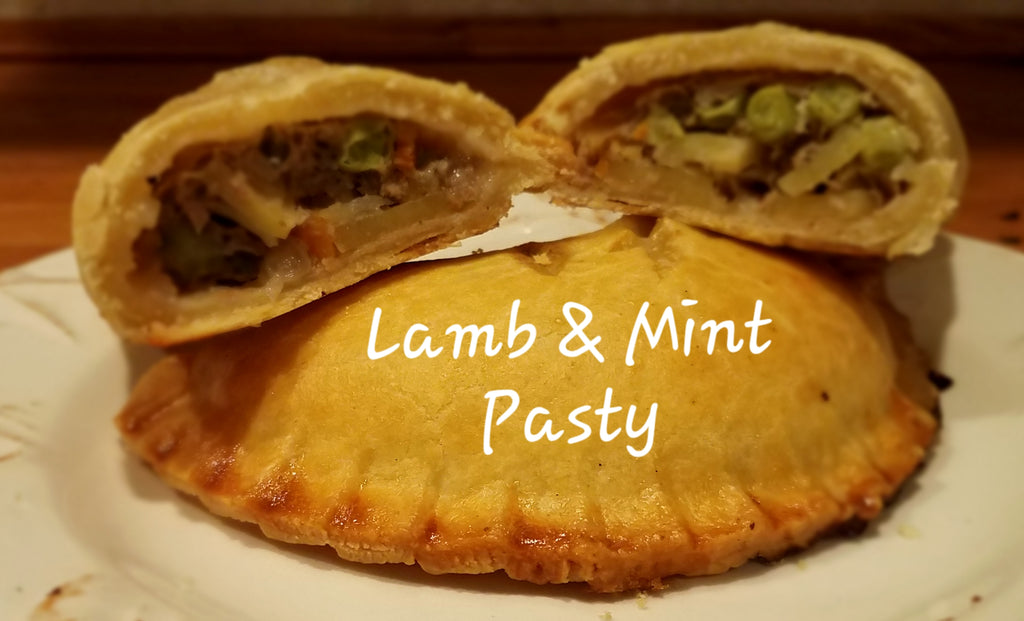 British Depot Lamb & Mint Pasty 5oz (1/4lb Ship Weight)