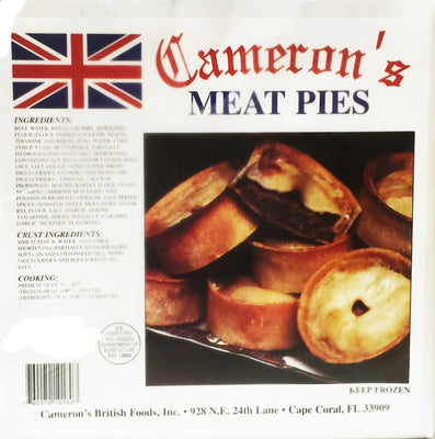 Cameron's Meat Pie 4pk