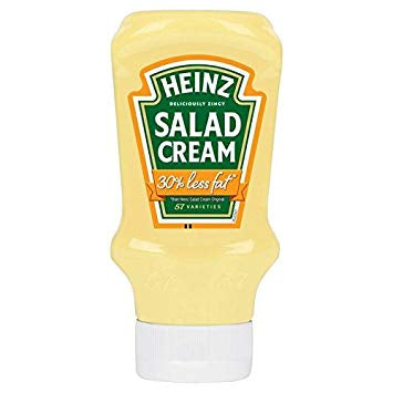 Heinz Salad Cream 30% less fat Squeezy 415g