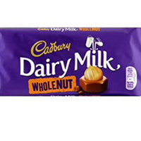 Cadbury Whole Nut 120g