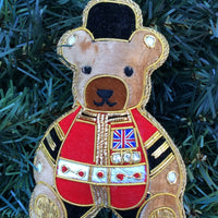 Guardsbear Christmas Ornament