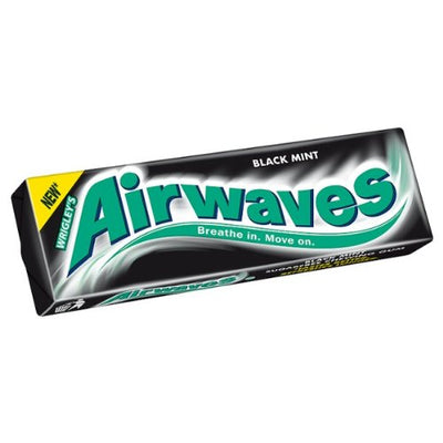 Airwaves Blackmint Chewing Gum 14g.