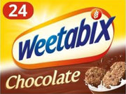 Weetabix Chocolate Cereal 24pk 430g