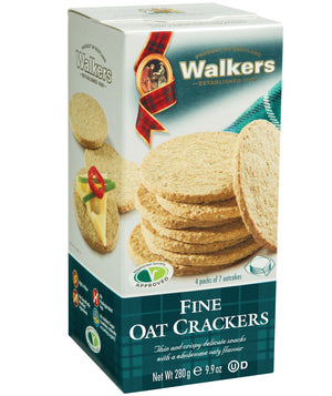 Walkers Fine Oat Crackers 280g