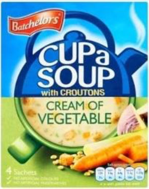 Batchelor's CupaSoup Cream of Vegetable