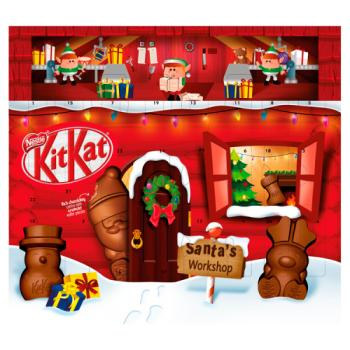 Nestle Kit Kat Santa Advent Calendar 216g