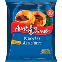 Aunt Bessies Yorkshire Puddings 12pk 220g (1lb Ship Weight)