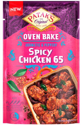 Pataks Spicy chicken 65 oven bake