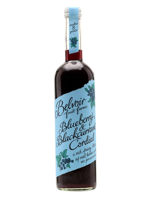 Belvoir Blueberry & Blackcurrant Cordial 500ml.