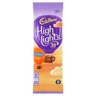 Cadbury Highlights Fudge Sachet