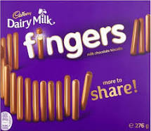Cadbury Chocolate Fingers Big Gift 570g