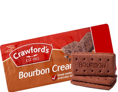Crawfords Bourbon Creams 150g
