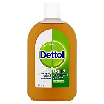 Dettol First Aid Antiseptic Liquid 500g.