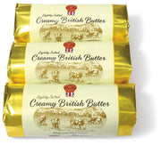 Coombe Castle Salted Devon Cream Butter 8oz (Retail Store Only)