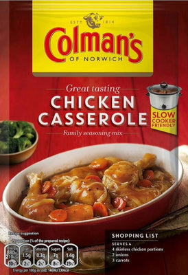 Colman's Chicken Casserole Mix 40g
