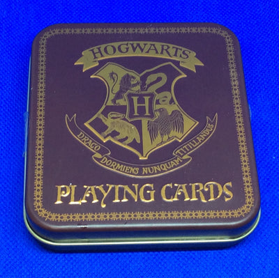 Harry Potter playing cards.