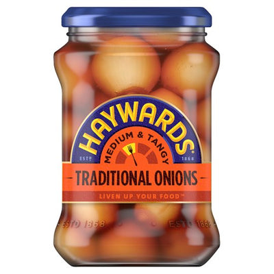 Haywards Traditional Pickled Onions - Medium 400g