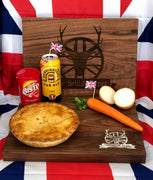 British Depot Family Size Steak & Ale Pie 32oz (2lb Ship Weight).