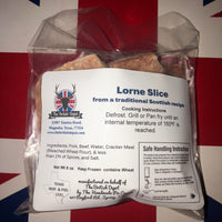 British Depot Lorne Sausage 8oz (1/2lb Ship Weight)