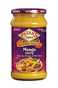 Patak's Mango Curry Sauce 425g