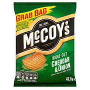 McCoys Large Cheddar & Onion 47.5g