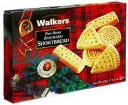 Walkers Classic Assorted Shortbread Selection Box 250g.