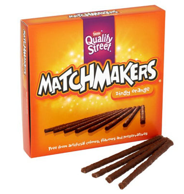 Nestle Quality Street MatchMakers Zingy Orange 120g