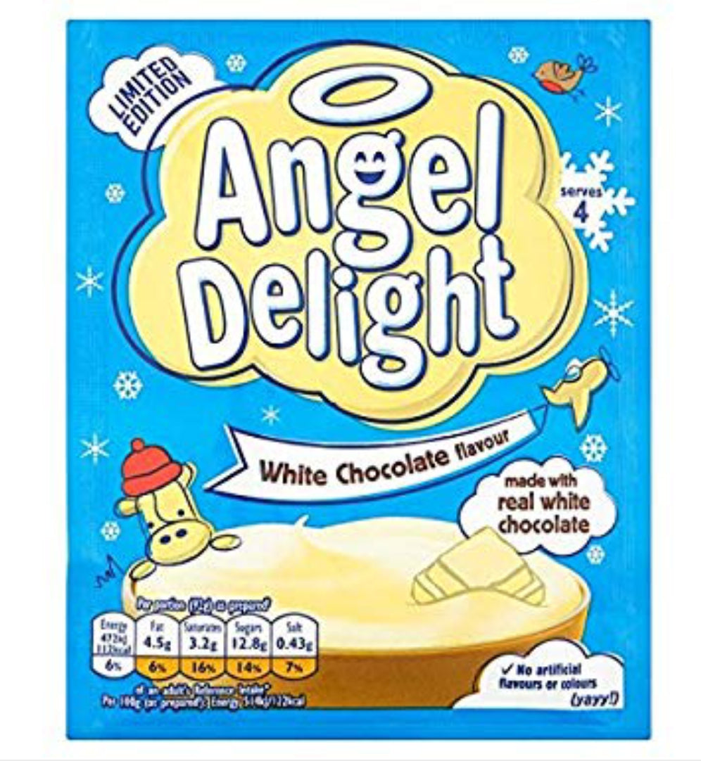 Angel Delight White Chocolate Packet 59g.