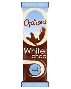 Options White Choc Sachet 11g