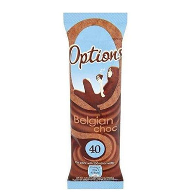 Options Belgian Choc Sachet 11g