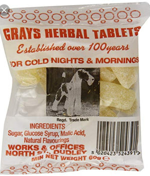 Gray's Herbal Tablet Packet 60g