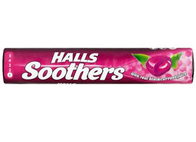 Halls Soothers Blackcurrant (45g)