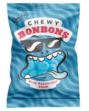 Bristows Blue Rasberry Sour Bon Bons Bag 150g