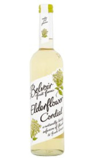 Belvoir Elderflower Cordial - Organic. 500ml.