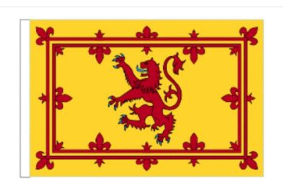 Rampant Lion Flag (Scottish flag)