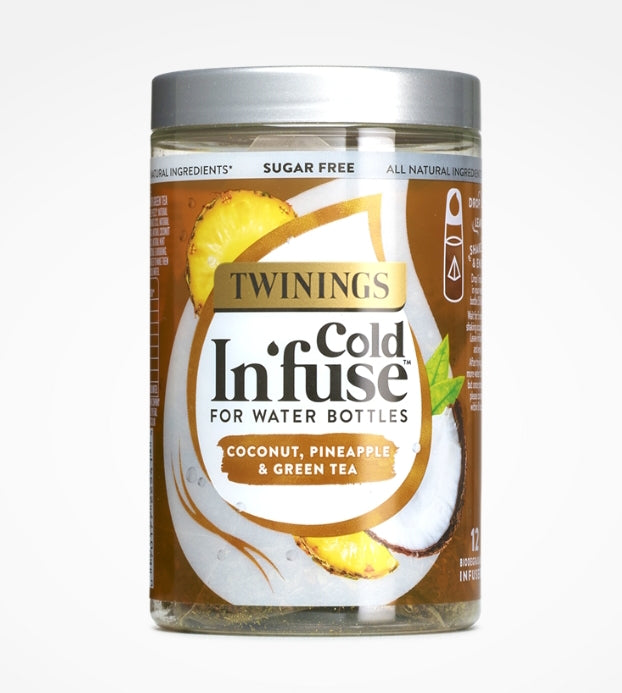 Twinings Cold In'fuse Coconut,Pineapple & Green Tea